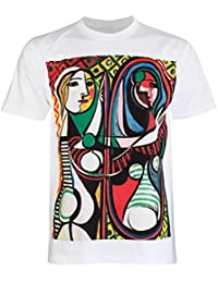 PALLAS Men's Pable Picasso Art Print T Shirt -PA277