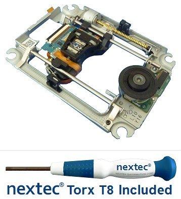 Neu - Sony PS3 Laser + Rahmen (KES-450D/ KES-450DAA/ KEM-450D/ KEM-450DAA) + Nextec® Torx T8 Security