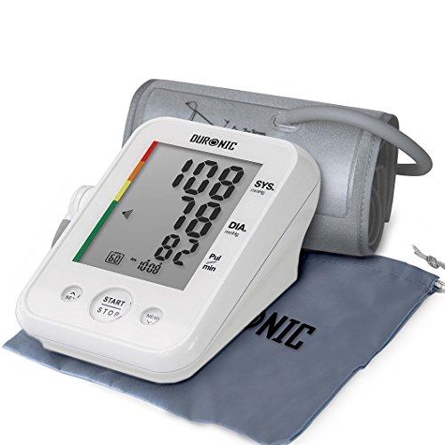 Duronic BPM150 Tensiomètre électronique pour bras avec brassard ajustable 22-42 cm - Mesure...