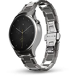Blink Smart Watch: Steel - Silver