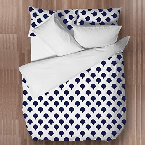 Erde Bettbezug Set (Suvinyas Luxurious Hotels Serie, Besticktes Bettbezug-Set, 100% ägyptische Baumwolle, Queen-Design, einfarbig, Bestickt)