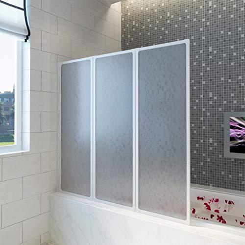 Mampara ducha, pared bañera plegable, mampara ducha