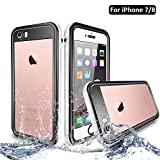 NewTsie Coque Étanche iPhone 7, Coque Antichoc iPhone 8, Imperméable IP68...