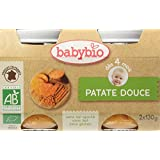 Babybio Pots Patate Douce 260 g - Lot de 6