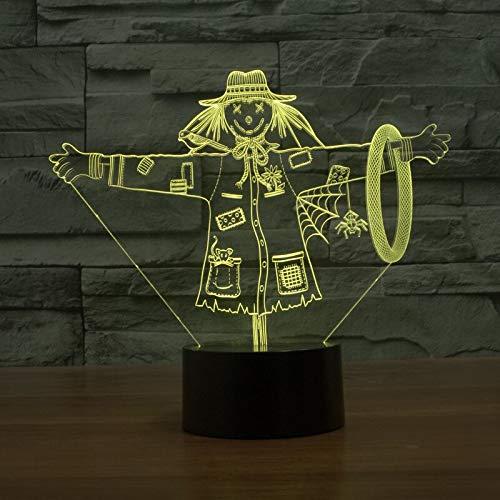 Nachtlichter Lampe Der Zauberer von Oz Nachtlichter USB Touch Tischlampe 7 Farbe Für Kinder Geschenk Spielzeug Dekoration A-832 ()