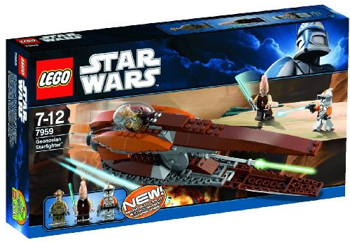 LEGO Star Wars - 7959 - Jeu de Construction - Geonosian Starfighter