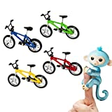 JACKY-Store Jungle Gym Playset Interactive Baby Monkey Climbing Stand Cycling Bicycle