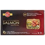 Golden Prize Wild Alaskan Pink Salmon Fillet in Oil, 115g
