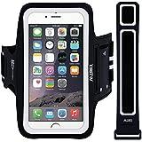 Brazaletes,EOTW brazalete deportivo para iphone6/6S/5/5S/5C, Samsung Galaxy S6/S5/S4/S3, Perfecto Auricular Conexión Durante Ejercicio y Corriendo (Negro_4.7inch)