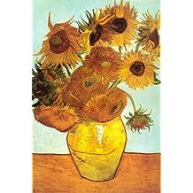 Lámina 'Doce girasoles', de Vincent van Gogh, Tamaño: 61 x 91 cm