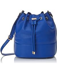 Trucco RT51AC10000, Bolso Saco y Cartera con Cierre Mujer, Azul (Azul Medio), 28 x 25 x 16 cm