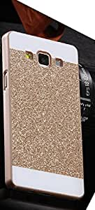 Shiney back cover for Samsung Galaxy Grand Prime G530 Gold