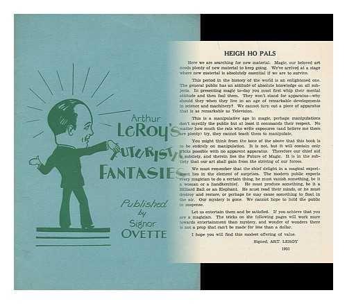 Arthur LeRoy's futuristic fantasies