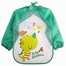 Mioloe Niños niñas artes arte pintura delantal bebé babero sucio juego trapo limpio bata-unisex