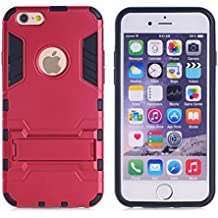 Huawei P8caso, Wkae® P8Lite caso, lujo cepillado acero Metal carcasa de la rígida de plástico para Huawei P8by Diebell (Deep Blue), plástico, Red, IPhone 5/5S
