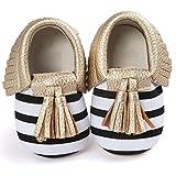 Bébé Chaussures, IMJONO Bébé Gousses de berceau  Chaussures Bowknot Baskets pour tout-petits Chaussures décontractées (0-6 mois, Or)