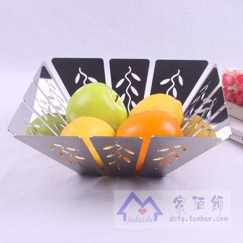 Preisvergleich Produktbild WANG Einfach - shunlida kreative Mode Edelstahl candy Topf trockene Frucht,  Obstteller