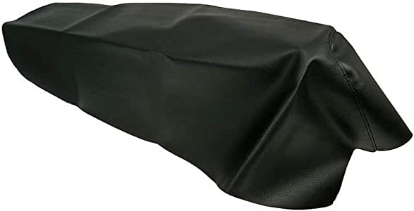 Sitzbezug Fahrer ODF schwarz Aprilia rot f/ür Aprilia SR 50 Sport 00-