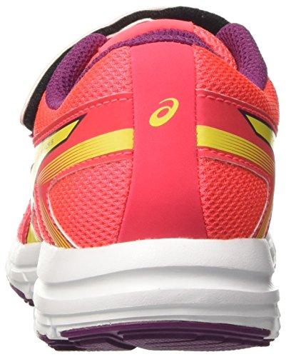 Asics Gel-Zaraca 5 Ps, Chaussures de Course pour Entraînement sur Route Mixte Enfant Rose (Diva Pink/sun/dark Purple)
