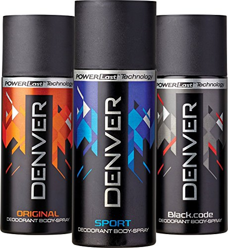 Denver Combo Body Spray (150ML, Pack of 3)