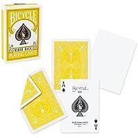 Baraja de BICYCLE con dorso amarillo