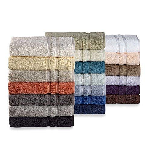 2 toallas de baño, LUJO 100x180 cm, 850 gr / m² Zérotwist HOTEL SPA, 100% algodón egipcio, dulzura absoluta.