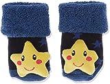 Sterntaler Jungen Baby-Rasselsöckchen Socken, Blau (Tintenbl Mel 376), One Size (15/16)