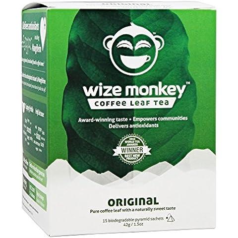 Wize Monkey - foglia caffè tè originale - 15 bustina (e)