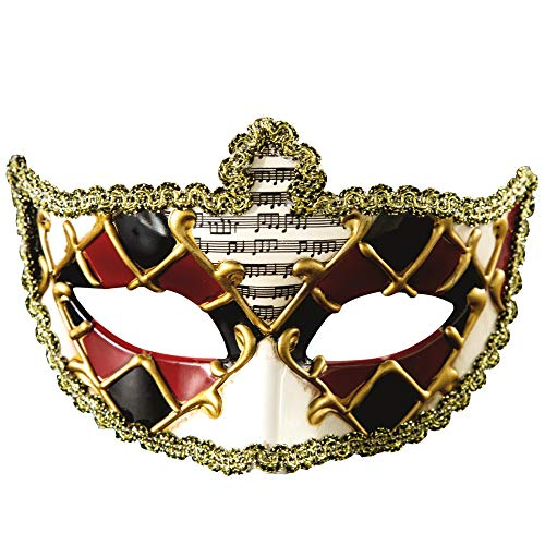 TUWEN Halloween-Maske Maskerade Halbe Gesicht Party MäNner Und Frauen Venedig Urlaub Requisiten (Männer Für Halloween-gesichter)