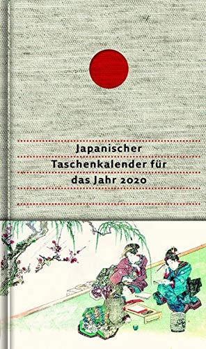 Japanischer Taschenkalender für das Jahr 2020: Mit 53 Haiku von Matsuo Bashô und seinen Meisterschülern