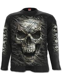 Spiral - T-Shirt à manches longues - Homme noir noir