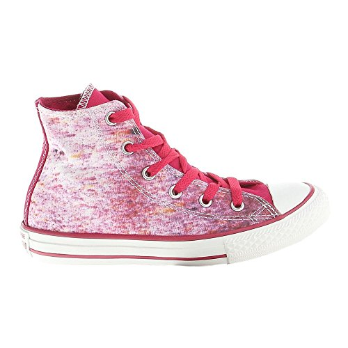Converse - Chuck Taylor All Star - 647643C - Couleur: Rose-Blanc - Pointure: 36.0