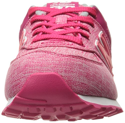 New Balance Unisex-Kinder Kl574wtg M Sneakers Heather Pink/White