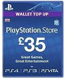 Sony PlayStation Network Card - £35 (PlayStation Vita/PS3)