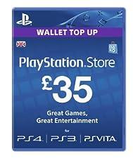 Playstation Network Card - £35 (PlayStation Vita/PS3) [Importación inglesa]