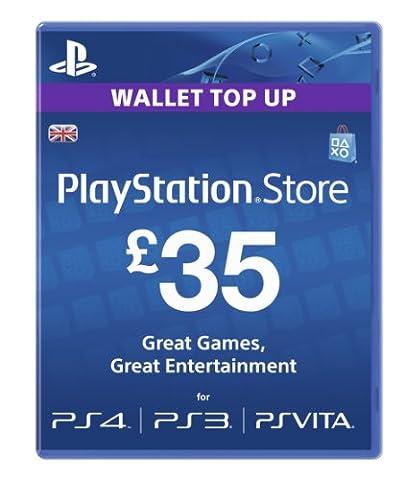 Sony PlayStation Network Card - £35 (PlayStation