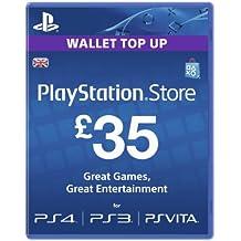 Playstation Network Card - 35 (PlayStation Vita/PS3) [Importación inglesa]