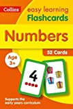 Numbers Flashcards (Collins Easy Learning Preschool)