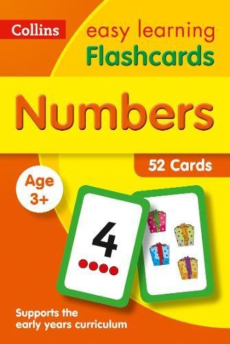 Numbers Flashcards: fun games and activity ideas for numbers (Collins Easy Learning Preschool)