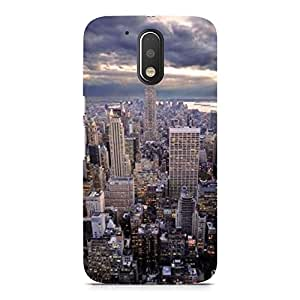 Hamee Printed Premium Hard Back Case Cover for Motorola Moto X Force Design 1460