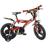 Dino Bikes 163GLN Fahrrad für Jungen 16, 6bis 8Jahre