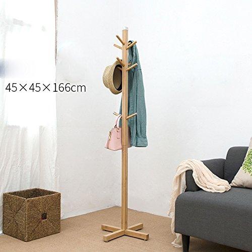 camera-da-letto-piano-appendiabiti-creativi-appendini-in-legno-massiccio-abiti-semplici-interne-rack
