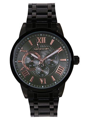Giordano Analog Black Dial Men's Watch - A1077-66