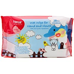 Farlin Wet Wipes for Hand and Mouth 28pcs (150x200mm)