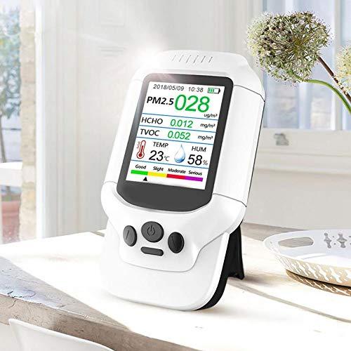 DZSF Luftqualitätsdetektor-Messinstrument-Monitor mit Farb-LCD-Multifunktionsbetriebssystem für Innenformaldehyd HCHO