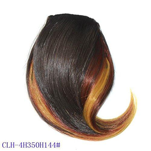 TianWlio Perücken Damen Hübsche Mädchen Clip Auf Clip im Vorderen Haar Bang Fringe Haarver Längerung Stück Dünn (Kurzen Für Haaren Mit Jungs Halloween-kostüme)