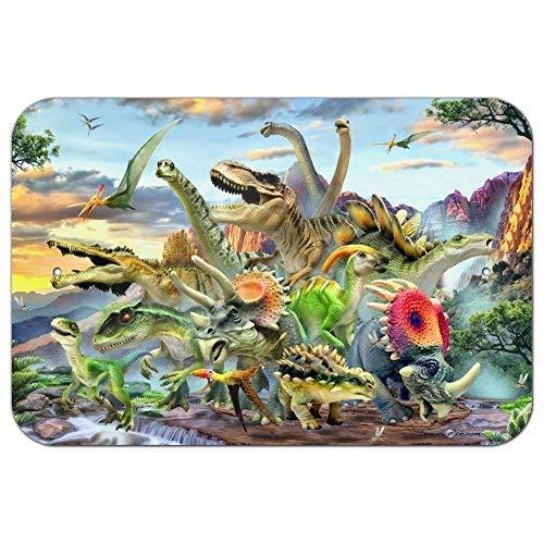 Dozili Dinosaures Jurassic Dinosaures Plaque en Aluminium 12\