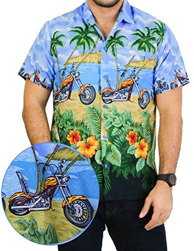 la-leela-likre-bleu-royal-caribbean-plage-de-poche-t-shirt-hawaien-xxl-camp-hommes