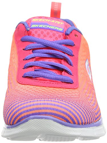 Skechers Equilizer - Expect Miracles, Multisports extérieure Femme Rosa (Pink/Purple Pkpr)