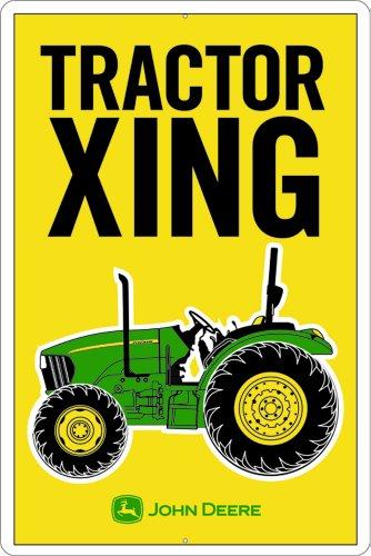 John Deere metal Sign, trattore Xing